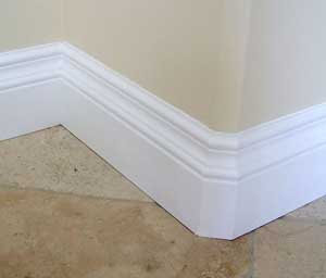Baseboards unique custom mouldings trim for Mid century modern baseboard