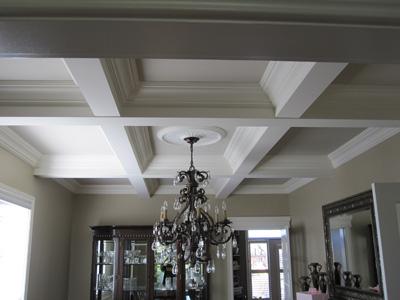 Beam ceiling unique custom mouldings trim for Box beam ceiling