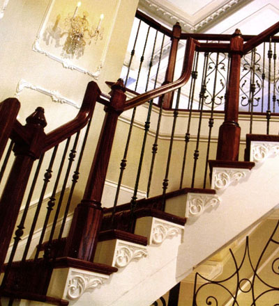 Elegant Stair Brackets